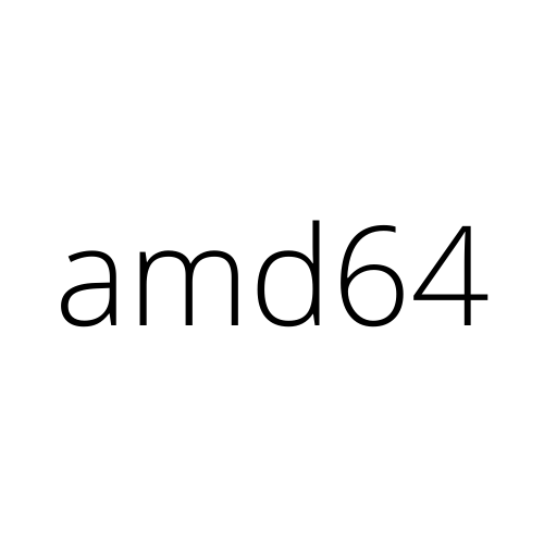 Image of 64-bit x86 (amd64)