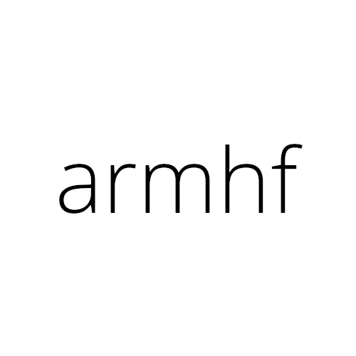 Image of 32-bit ARM (armhf)