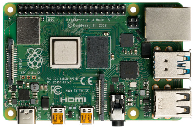Image of Raspberry Pi 4 Model B