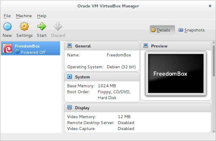 VirtualBox für amd64